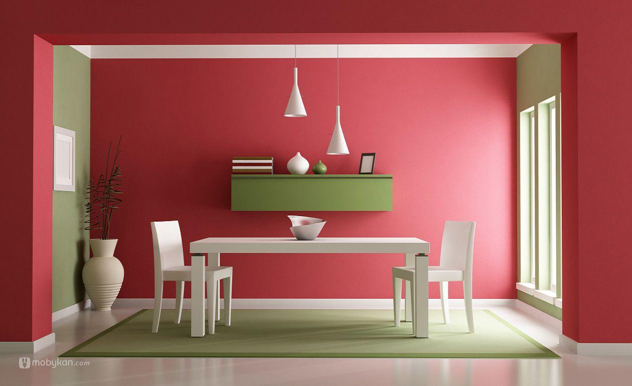 الوان دهانات مميزه افكار ل الوان الدهان مجلة موبيكان Trending Decor Home Decor Green Dining Room