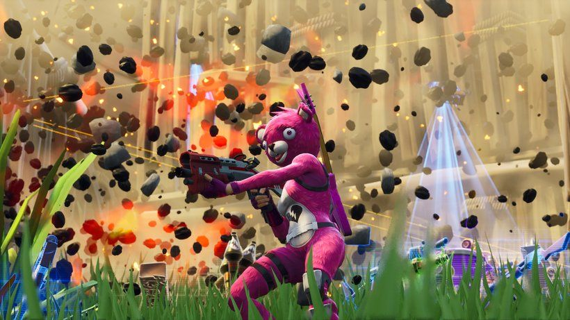 Cuddle Team Leader Fortnite Battle Royale Video Game 3840x2160