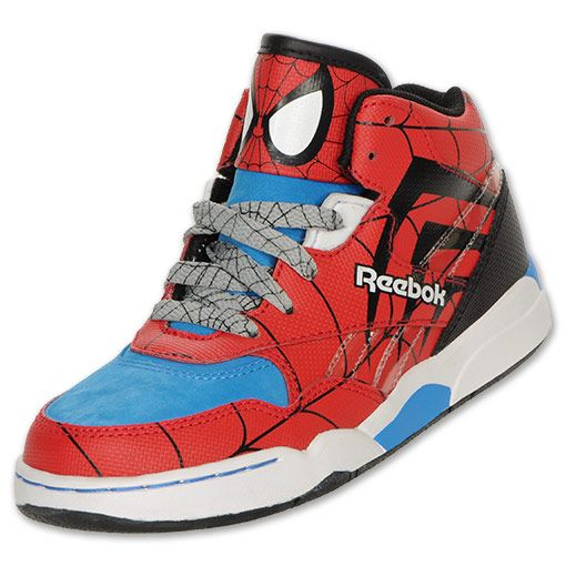 44b797c8ecc7 Reebok Original Spiderman Preschool Shoes