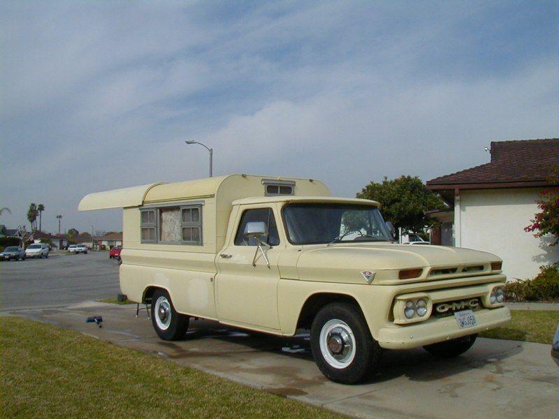 Vintage Truck Camper Shell Antique Interest