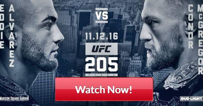 UFC 205 – live stream, UFC Live streaming, ufc 205 fight card, fight pass, start time, Alvarez vs McGregor, McGregor vs Alvarez
