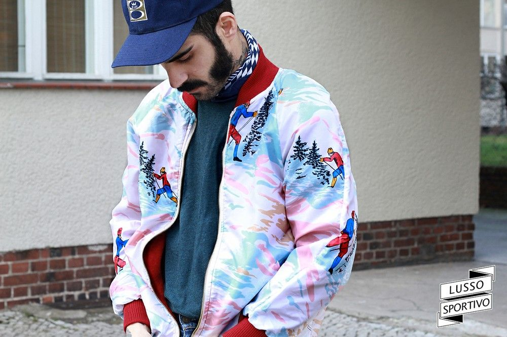 JAPANESE REVERSIBLE BOMBER 70's via LUSSO SPORTIVO Vintage Store. Click on the image to see more!