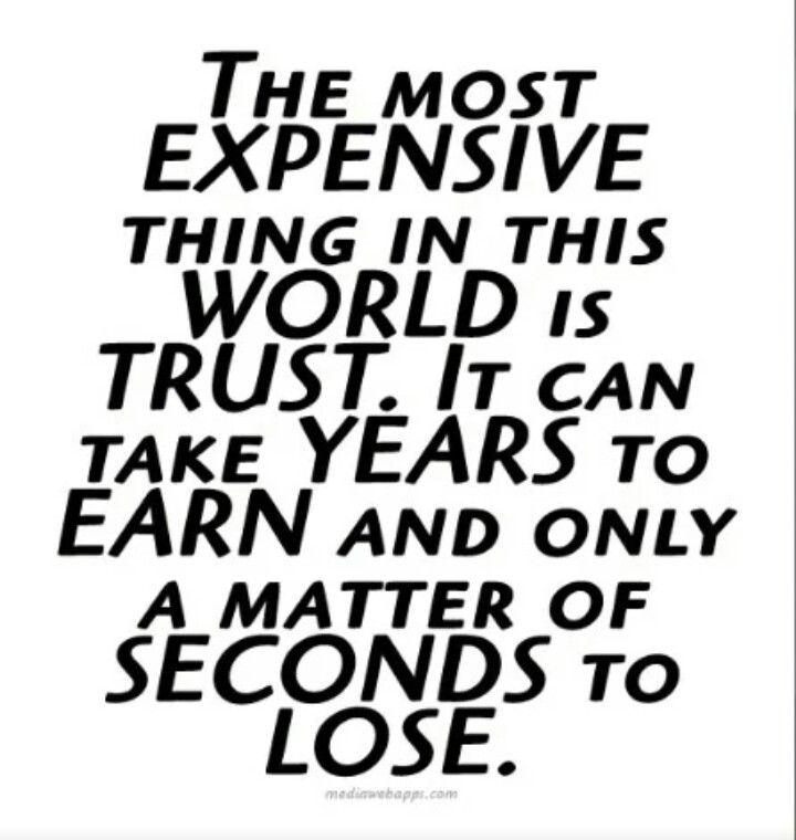 Trust Quote True Quotes Words Quotes Words