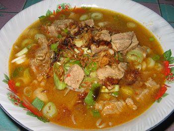 Resep Soto Babat Sapi Resep Masakan Indonesia Resep Masakan