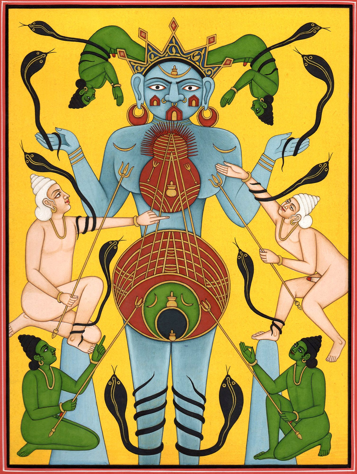 Gods and goddesses of tantric sex