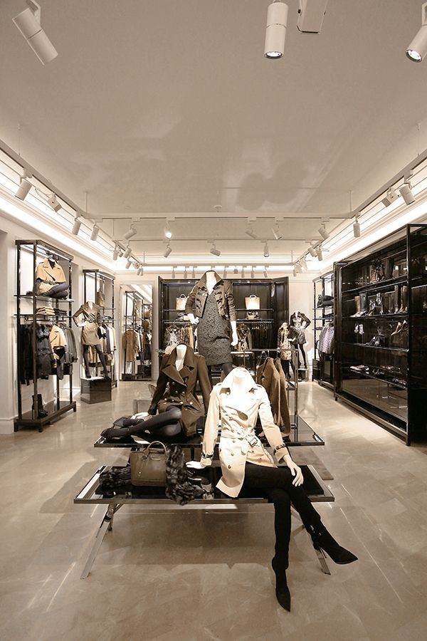 Burberry celebrates the opening of its new Milan store