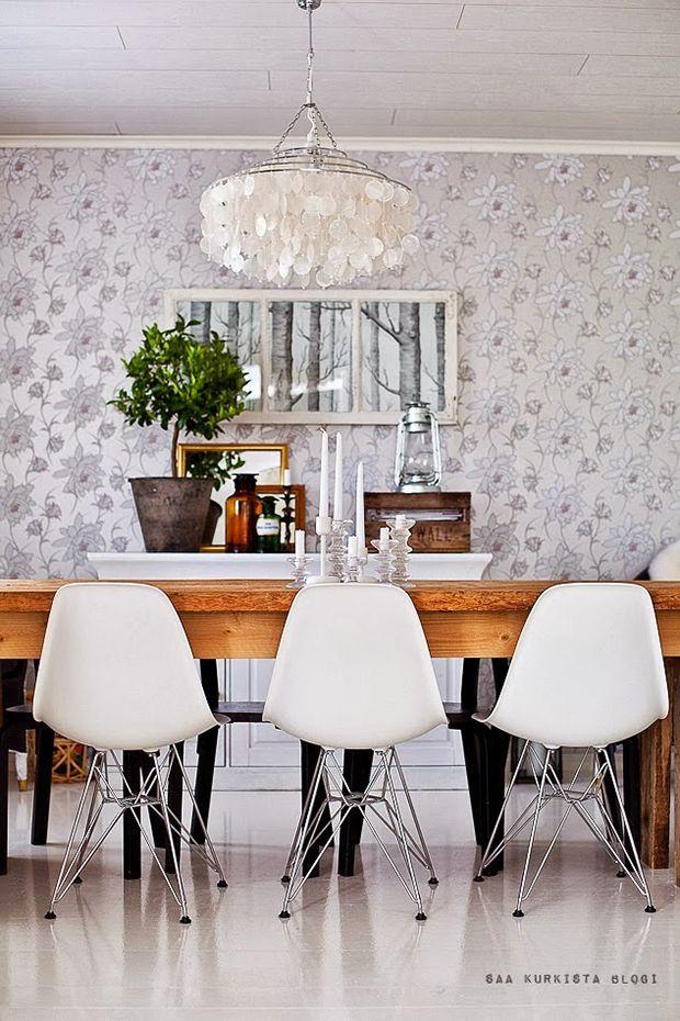Resultado de imagen de papel pintado comedor  SOME HOME