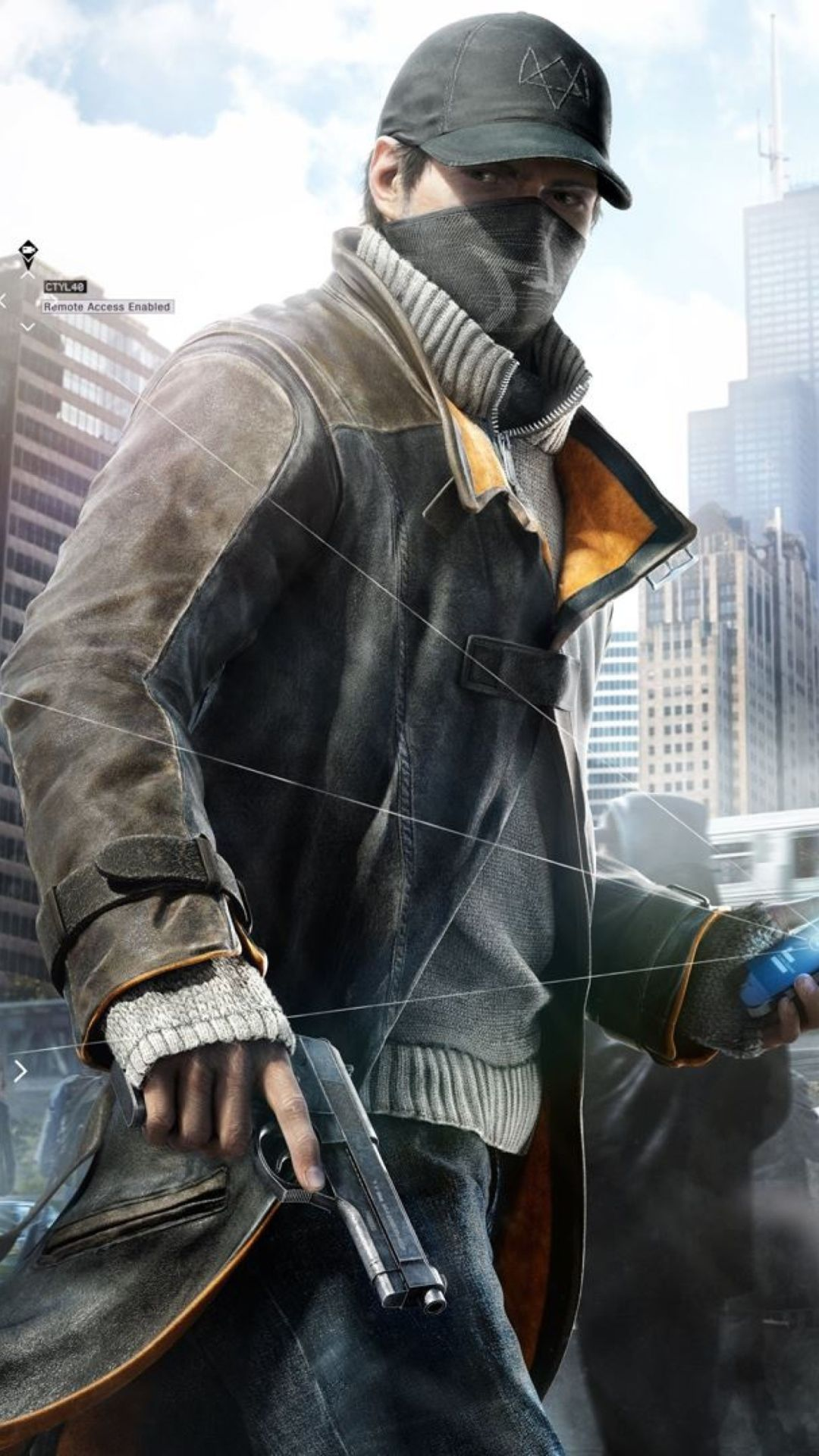 Aiden Pearce in Watch Dogs wallpapers (82 Wallpapers) - HD ...