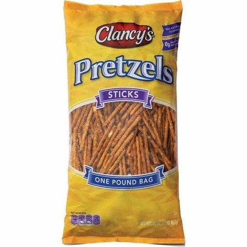 ALDI : CLANCY'S pretzel sticks : $1.29