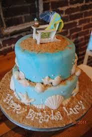 Resultado de imagen para birthday cake beach theme Hawaii Birthday