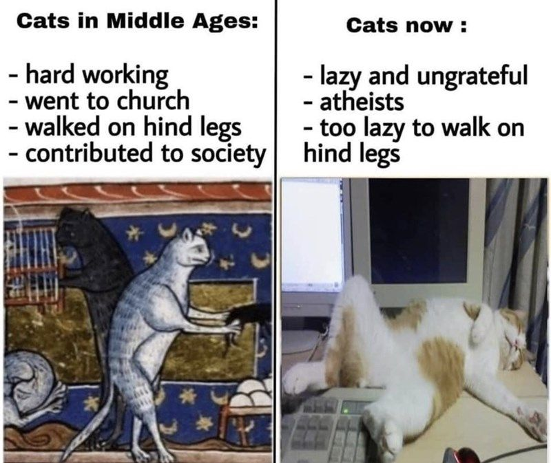 Memes Tweets To Aid In Escapism Friends In Love Art Memes Middle Ages