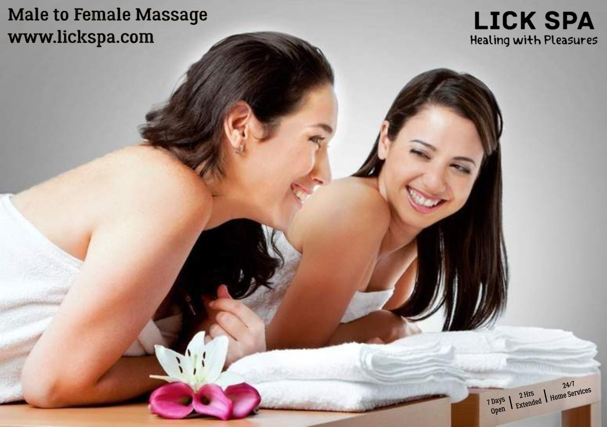Lick Spa Offer 3hrs Lesbian Couple Massage In Mumbai Best Couple