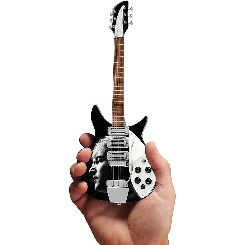 79b734e2bbf Axe Heaven John Lennon Fab Four Tribute Officially Licensed Miniature  Guitar Replica