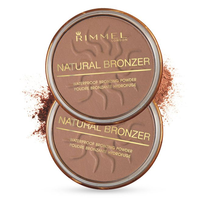 Natural Bronzer   Rimmel London US Best contouring powder, it's light and matte and easily