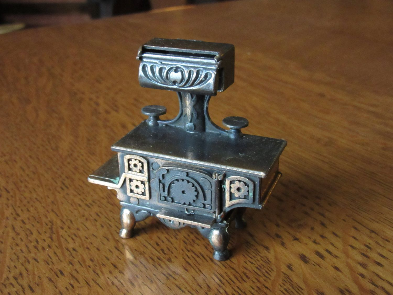 Vintage Durham Old Fashioned Cast Metal Stove, Dollhouse Furniture, Moving  Parts, Doll House