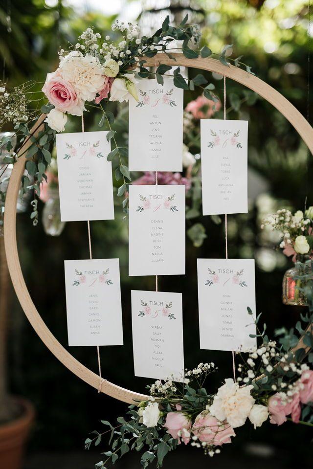 Papelería con flores y gradientes rosas de color oro Fotos: Jung und Wild D …