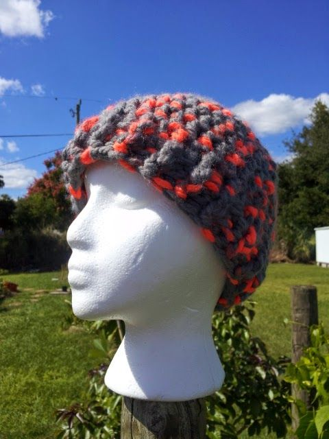 Mommy Made Crochet: Super Bulky Hat (Crochet pattern) | Caps And ...