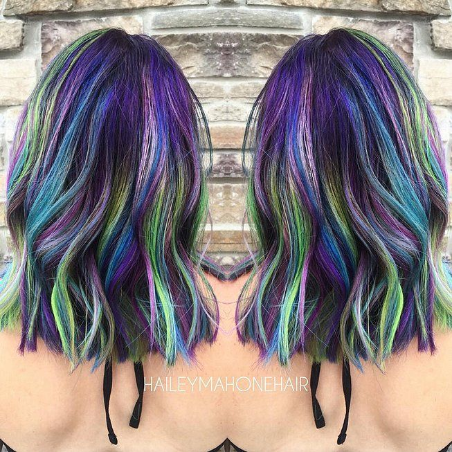15 Galaxy Hair Ideas That Will Make You Starry Eyed Hair