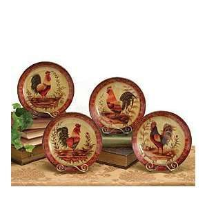 17 Best Images About Rooster Decor On Pinterest | Tins, Metal Rack And  Flour Sack