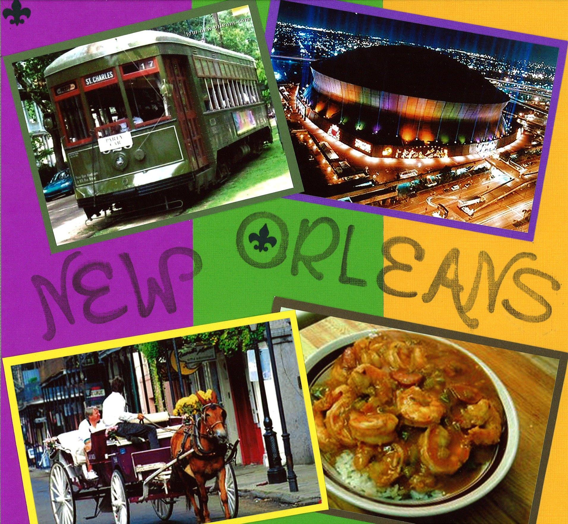 Scrapbook ideas new orleans - New Orleans 1 Scrapbook Com