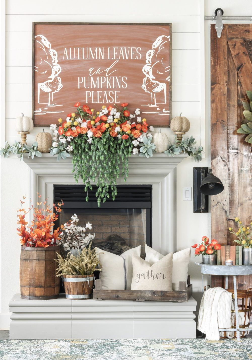 10 Fall Mantel Ideas That Are Seriously Inspiring Joyfully Growing Fall Mantel Decorations Fall Fireplace Fireplace Mantel Decor