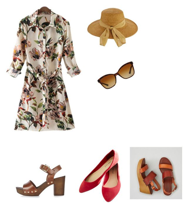 """""""Casual"""" by maria-ines-britos on Polyvore featuring moda, Wet Seal, River Island, American Eagle Outfitters, Scala y Bulgari"""