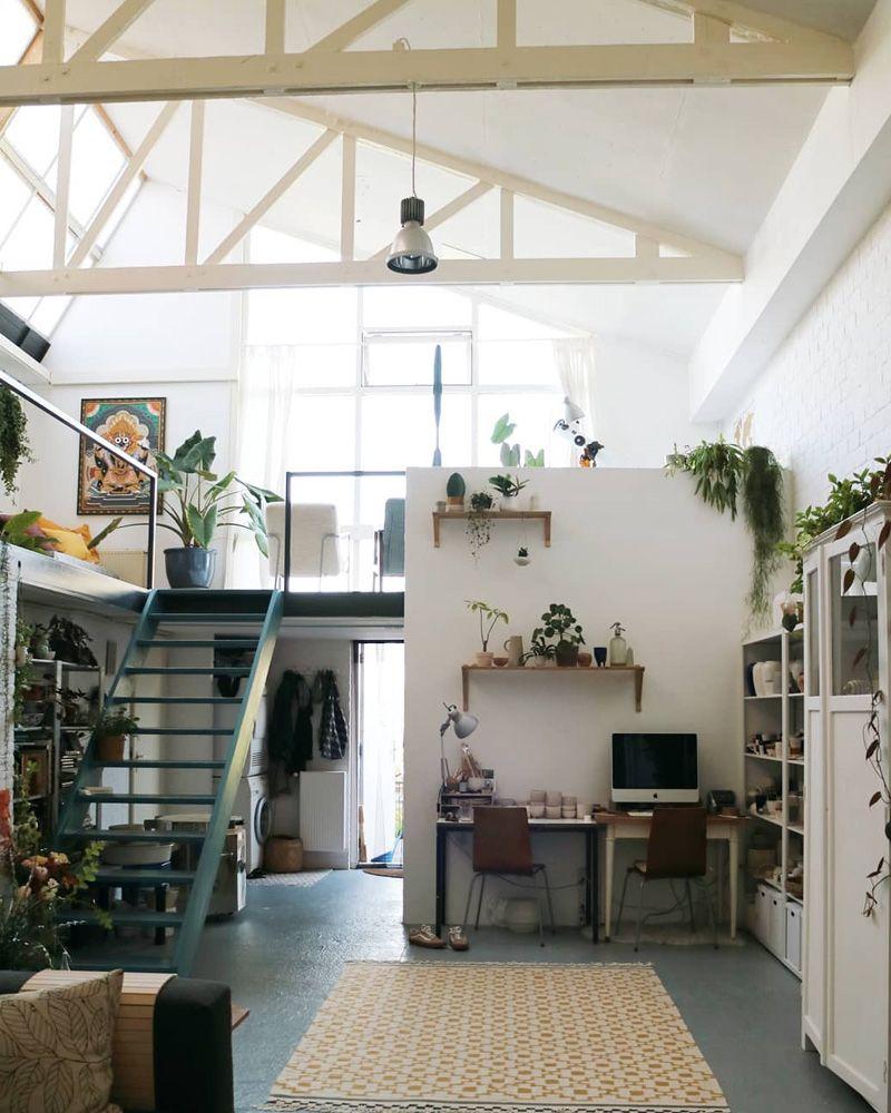 3 superbes loft repérés sur Instagram | Home & me | Loft apartment ...