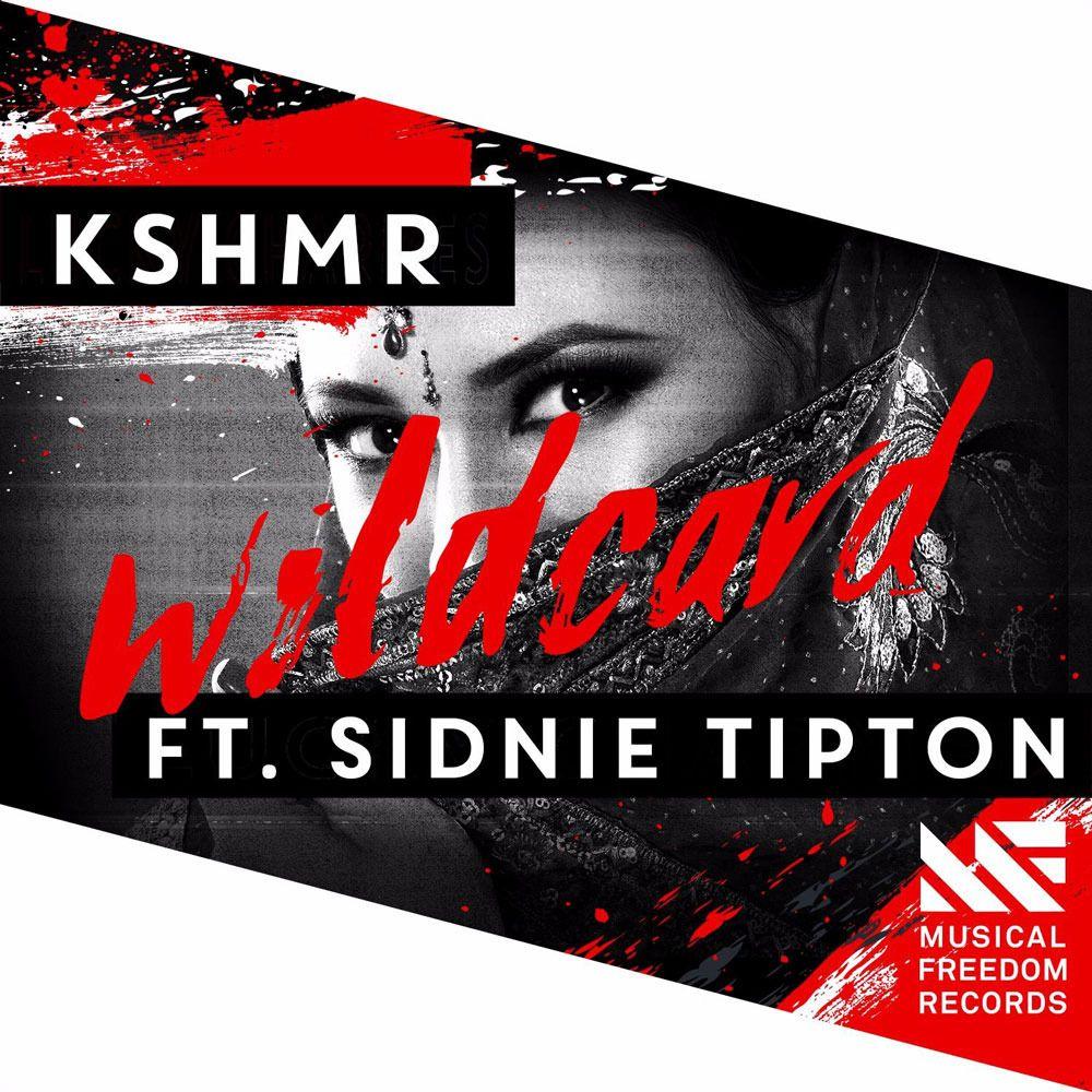 KSHMR, Sidnie Tipton – Wildcard (single cover art)