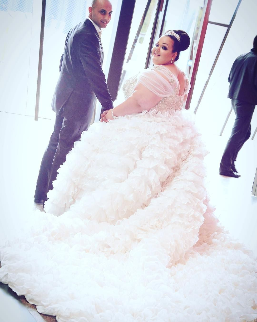 Wedding car decorations just married  TCFStyle Roundup These Plus Size Brides are Breathtaking  Bridal