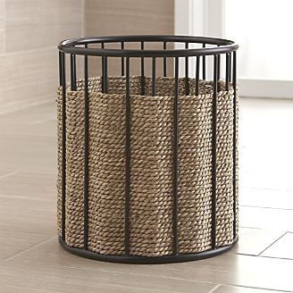 Barros Seagrass Waste Basket