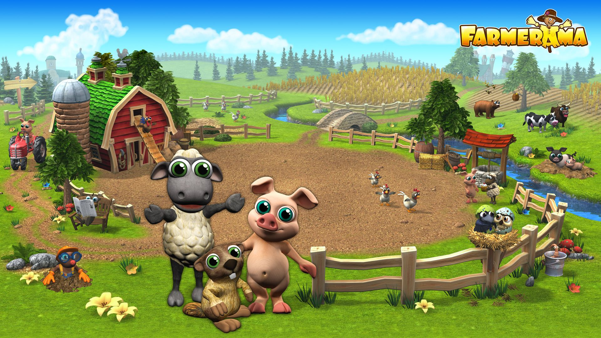 Do you like it? :) | DIY - Paper Ideas | Farm games, Games