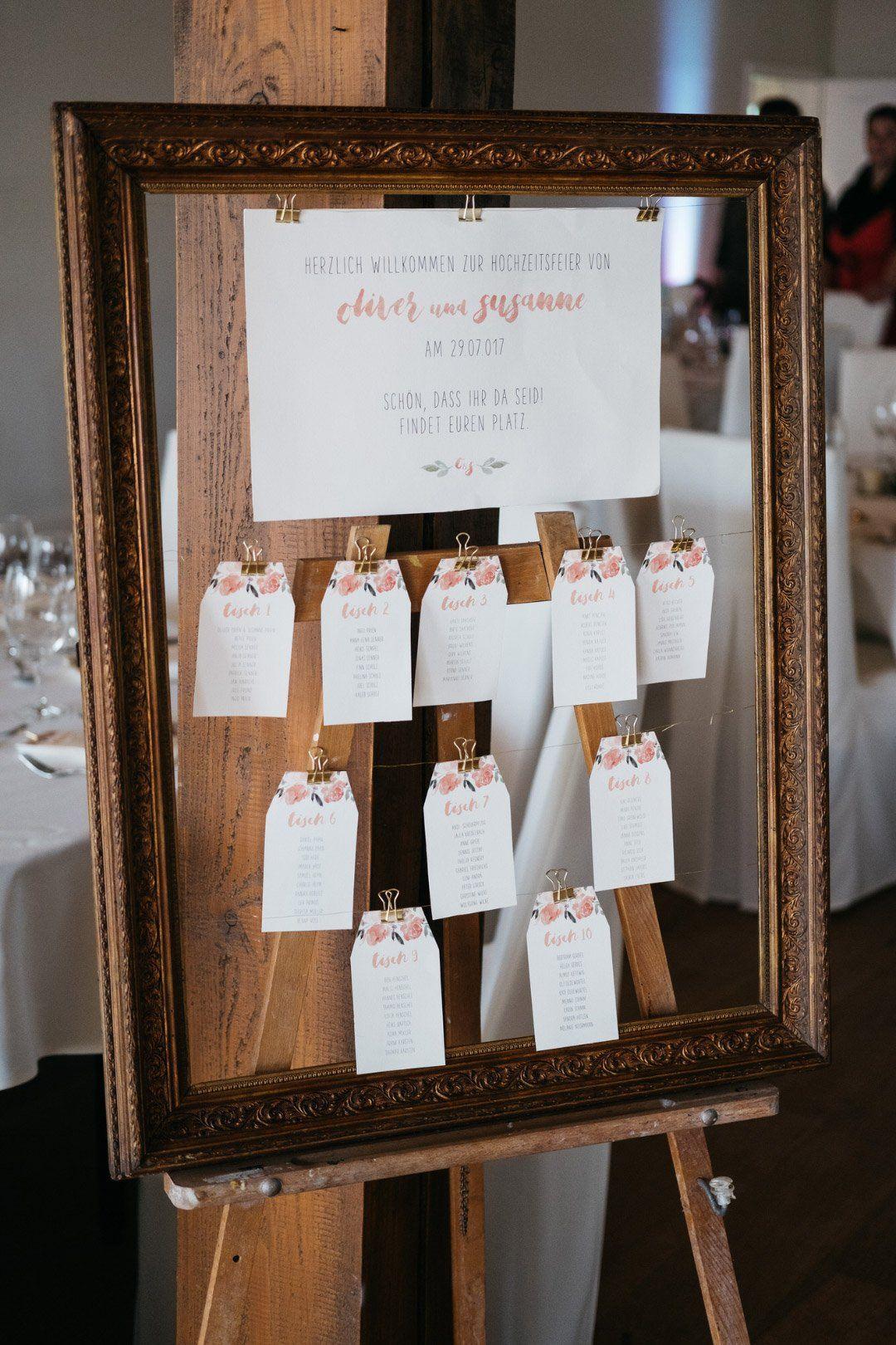 Pin Auf Sitzplan Tischplan Bei Der Hochzeit