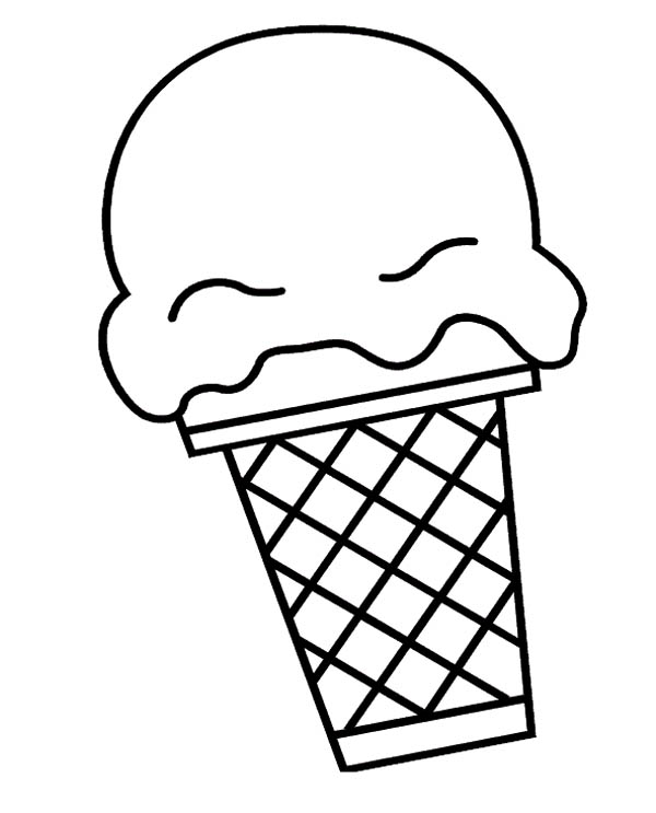 Big Ice Cream Scoop Coloring Page Coloring Sky In 2020 Coloring Pages Ice Cream Coloring Pages Cute Coloring Pages