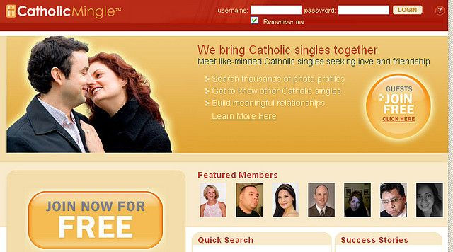 Free catholic dating online