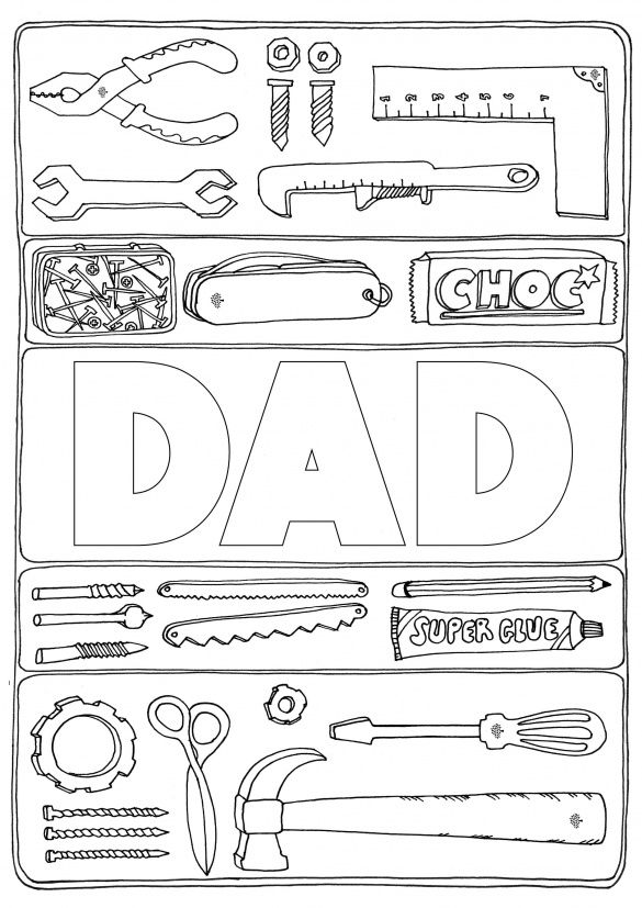 Print Out The Tool Kit And Get Creative Father S Day Diy Fathers Day Crafts Father S Day Activities