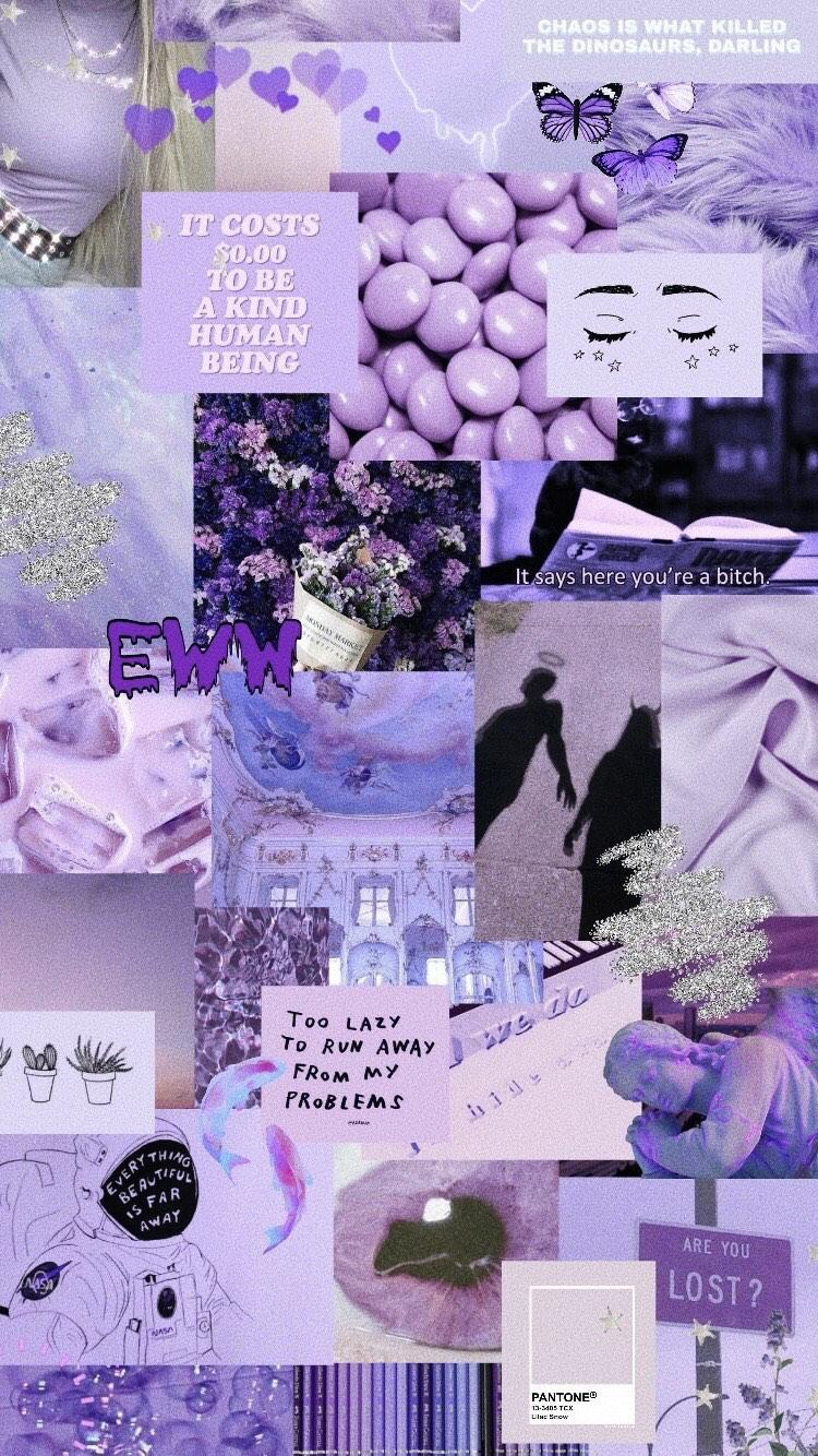 Iphone Purple Wallpaper Butterfly
