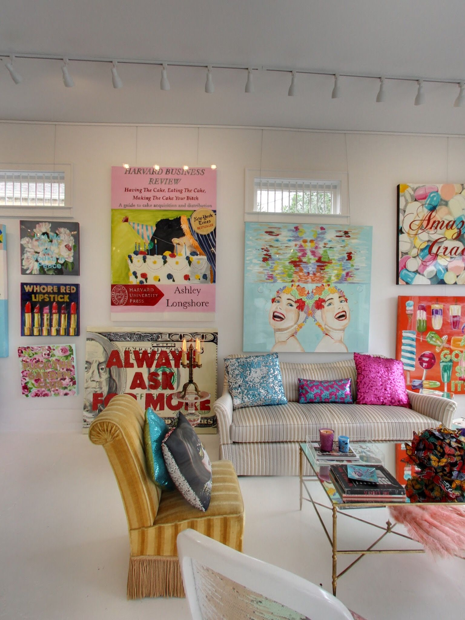 Check Out This Streets Panorama Of Ashley Longshore Studio Gallery