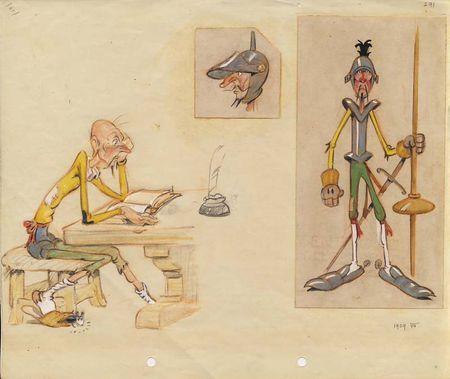 Horvath Don Quixote Dibujos Animados Disney Don Quijote