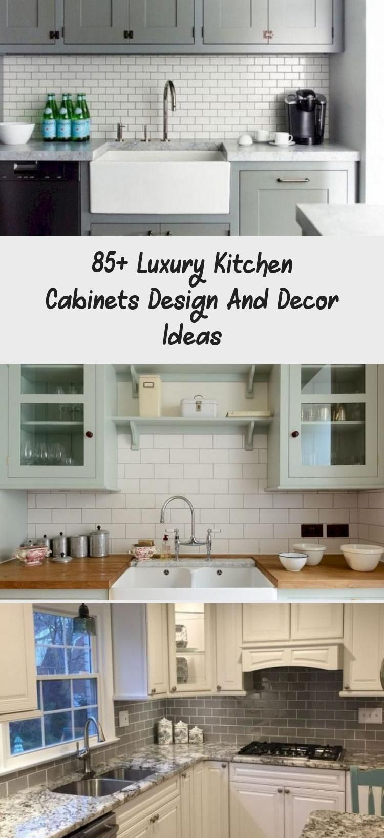 Photo of 85+ Luxury Kitchen Cabinets Design And Decor Ideas – KTCHN
