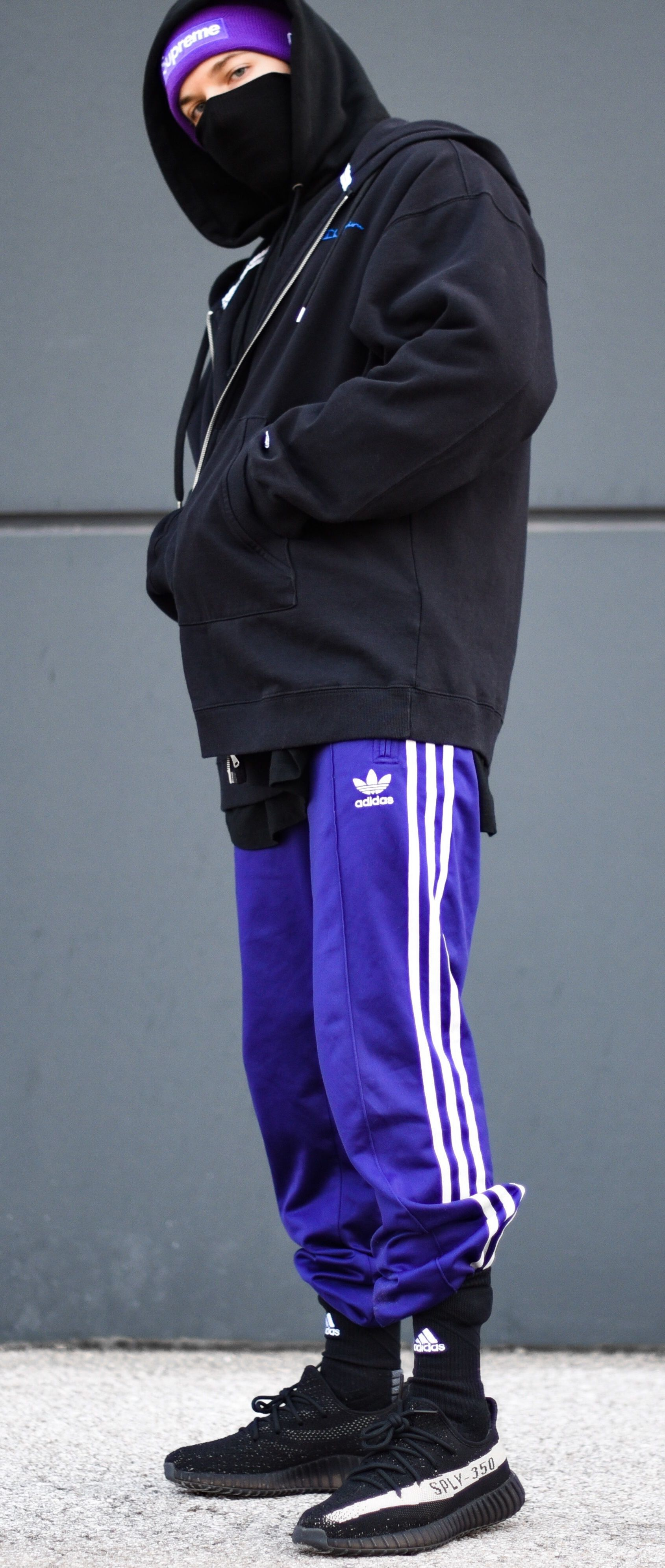 65185a69c18e Purple Adidas Pants | ensemble. | Red adidas pants, Adidas pants ...