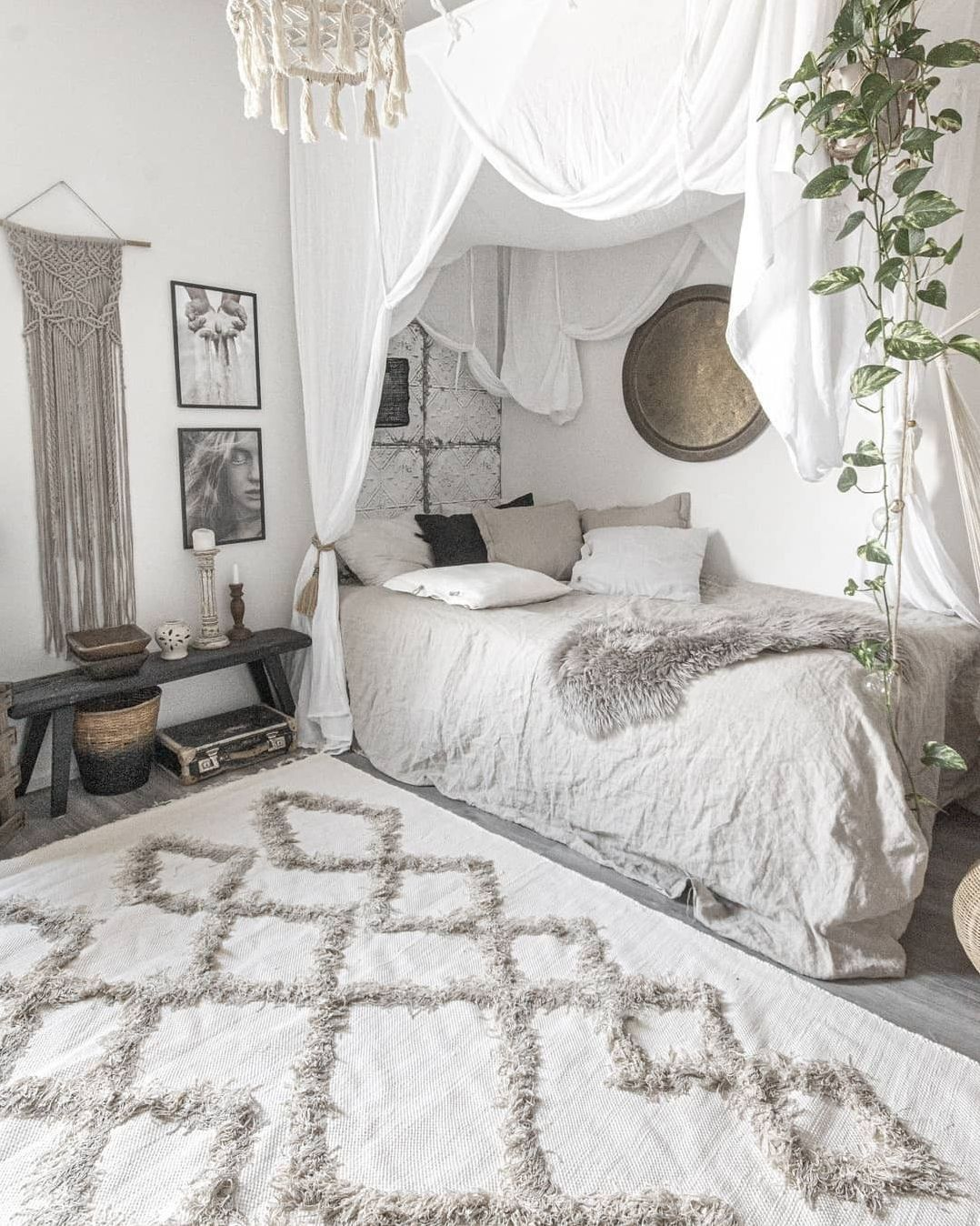 20 Creative Bohemian Bedroom Design Ideas You Must Try en 20