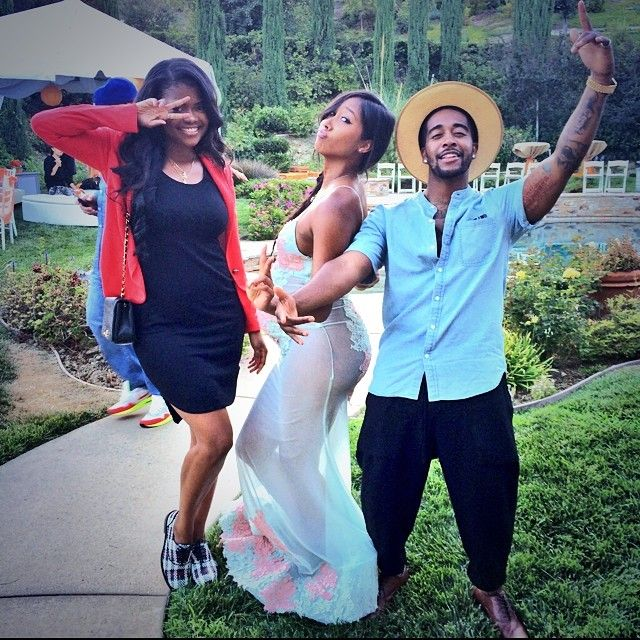 Omarion and Apryl Jones' cutest pregnancy photos on ...  Omarion and Apr...