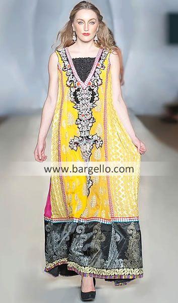 Designer Chiffon Dresses Party Wear With Trousers Pants Woodfield