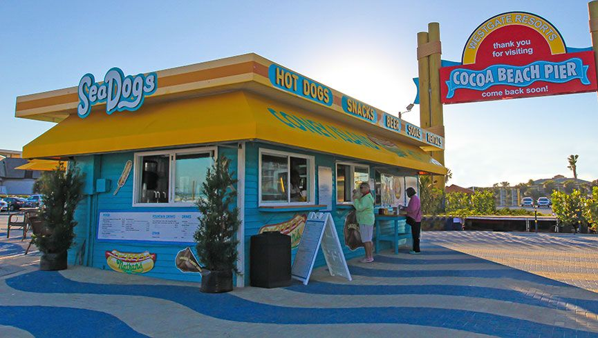 The Best Cocoa Beach Restaurants On The Water Sea Dogs Cocoa Beach Restaurants Cocoa Beach Resort Cocoa Beach Florida
