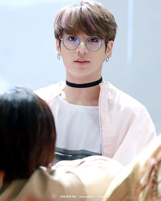 Bts Jungkook Glasses Wallpaper: Heart Attack __________ 170223 Aladin Fansign Cr