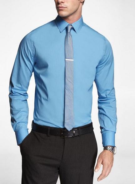regis monochromatic tie and shirt darker tie http