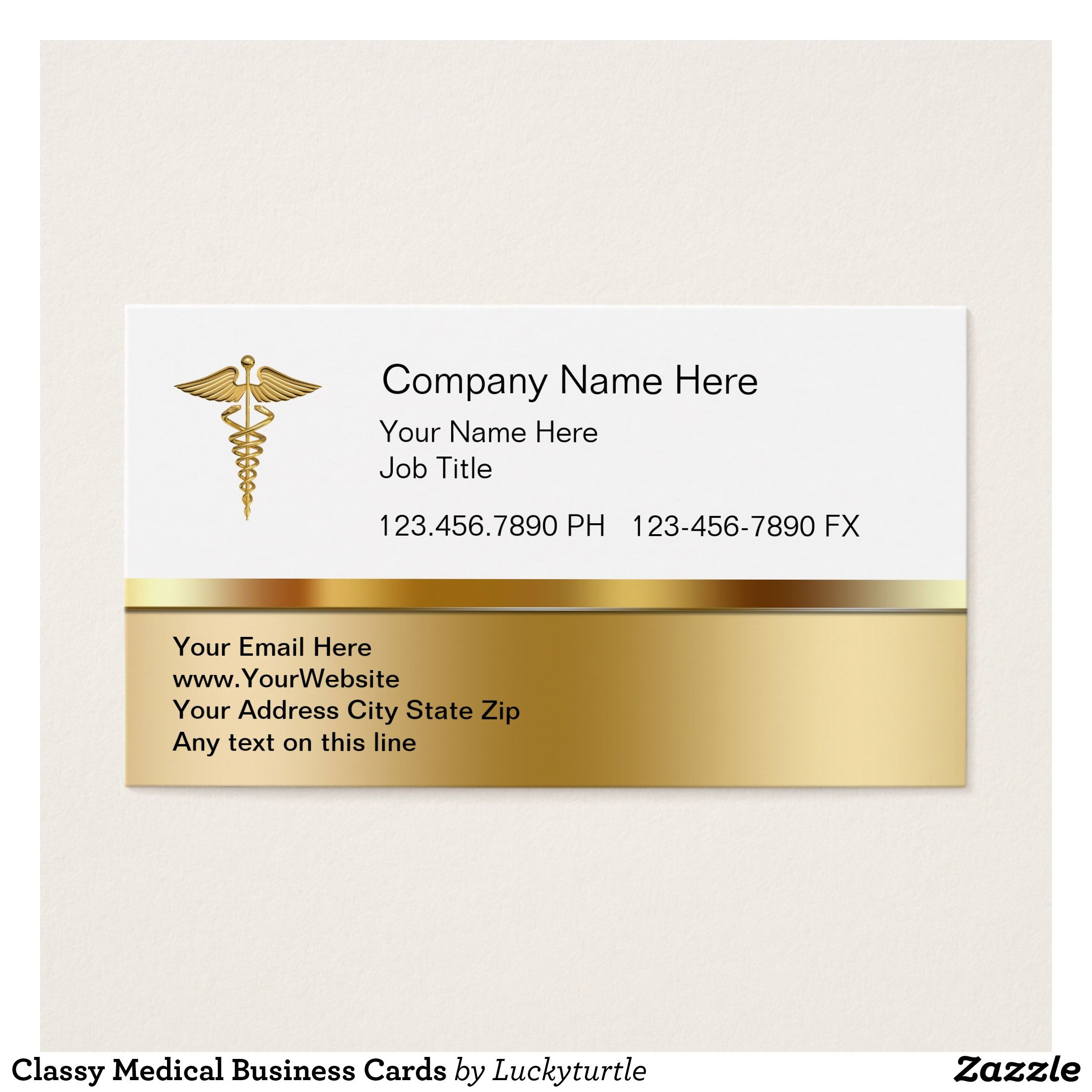 Classy Medical Business Cards | Typography | Pinterest | Business ...