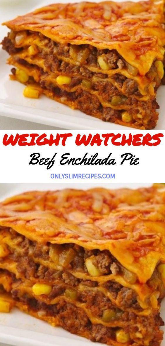Beef Enchilada Pie  Beef Enchilada Pie