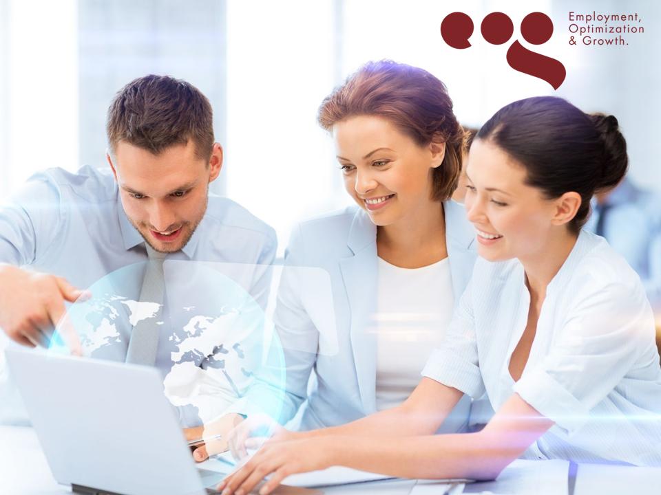 EOG CORPORATIVO. El optimizar nuestro trabajo y brindarle servicios de calidad a nuestros clientes es prioritario, para lo cual, hacemos uso de nuestros recursos tecnológicos y humanos de manera acertada. En EOG, Employment, Optimization & Growth, nos distinguimos por brindar servicios especializados en recursos humanos con resultados garantizados, avalados por una fianza de cumplimiento. #solucioneslaborales