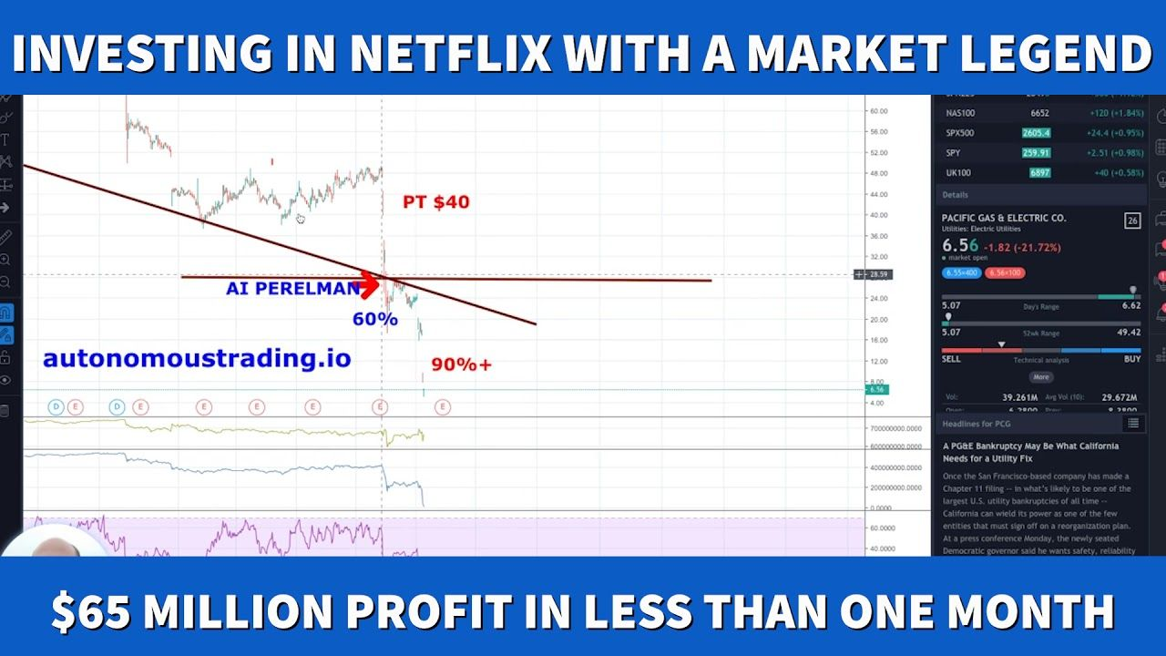 Alex Vieira 4 Billion Profit Investing in Netflix Live